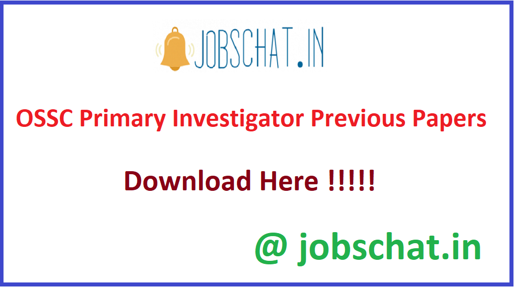 OSSC Primary Investigator Previous Papers