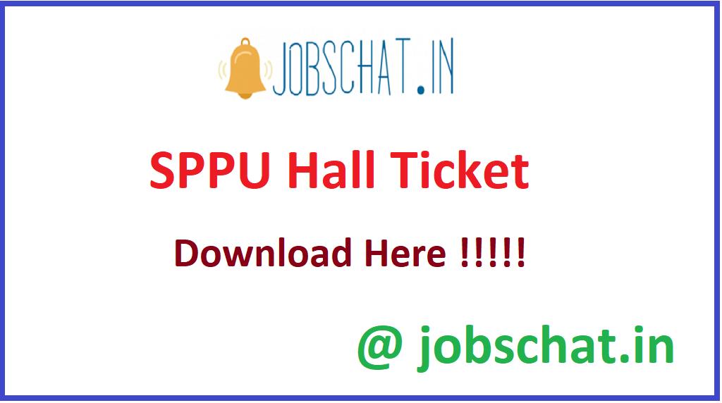 SPPU Hall Ticket