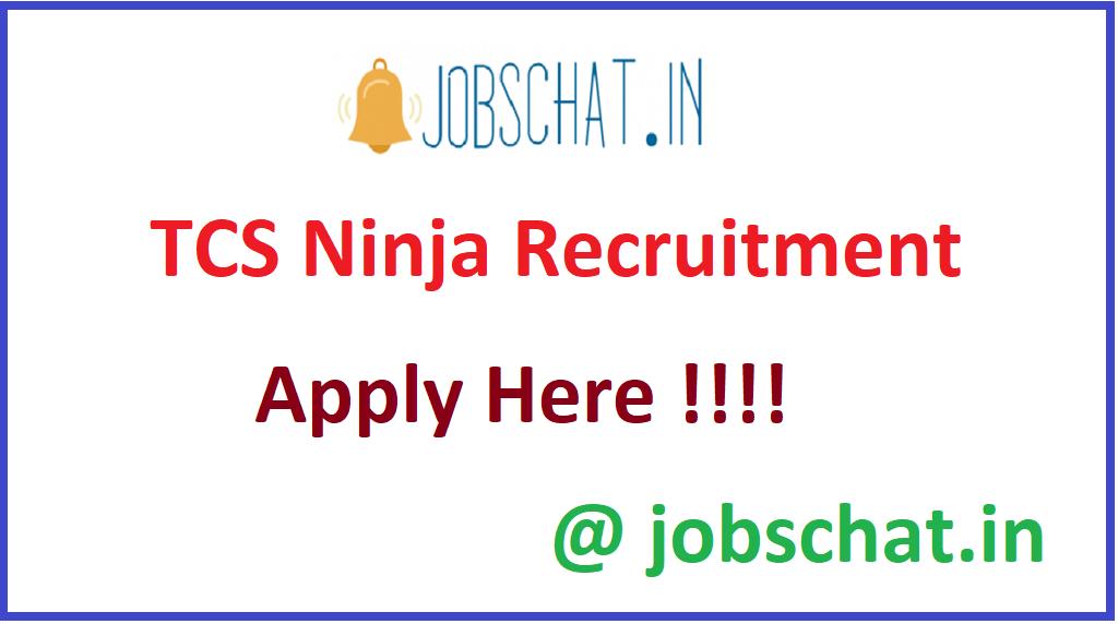 TCS Ninja Recruitment
