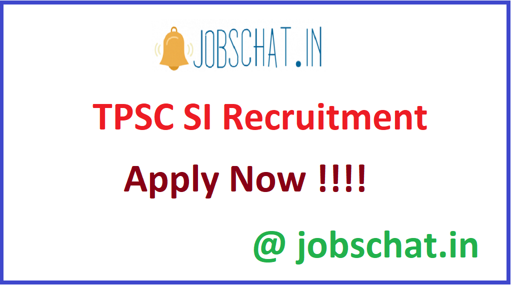 TPSC SI Recruitment