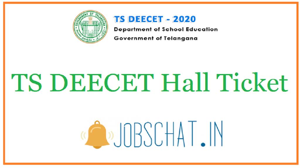 TS DEECET Hall Ticket