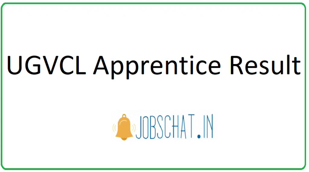 UGVCL Apprentice result