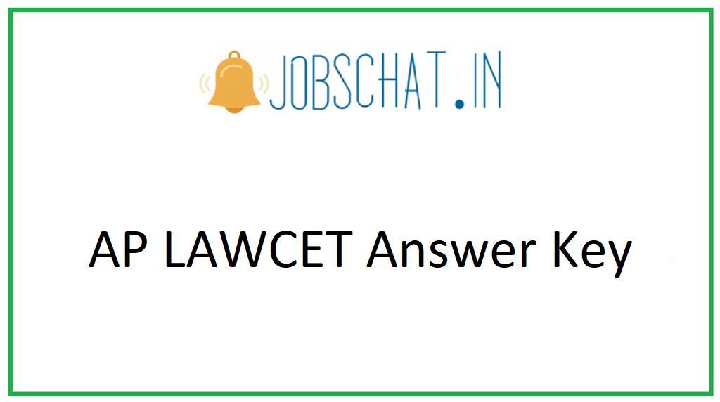 AP LAWCET Answer Key