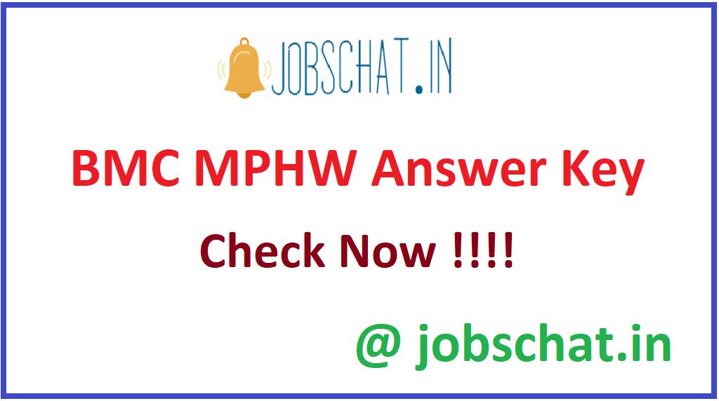 BMC MPHW Answer Key