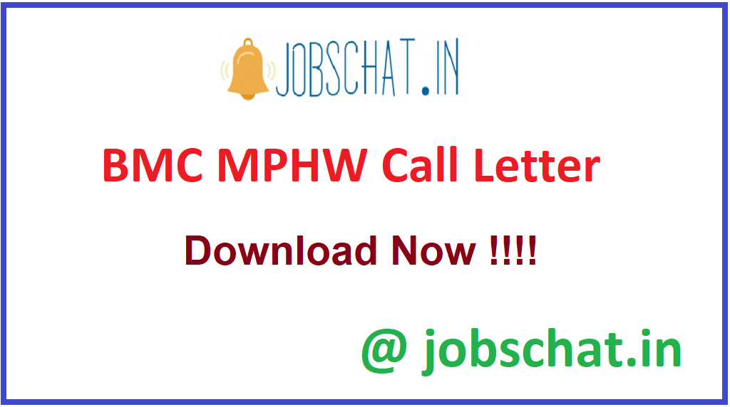 BMC MPHW Call Letter