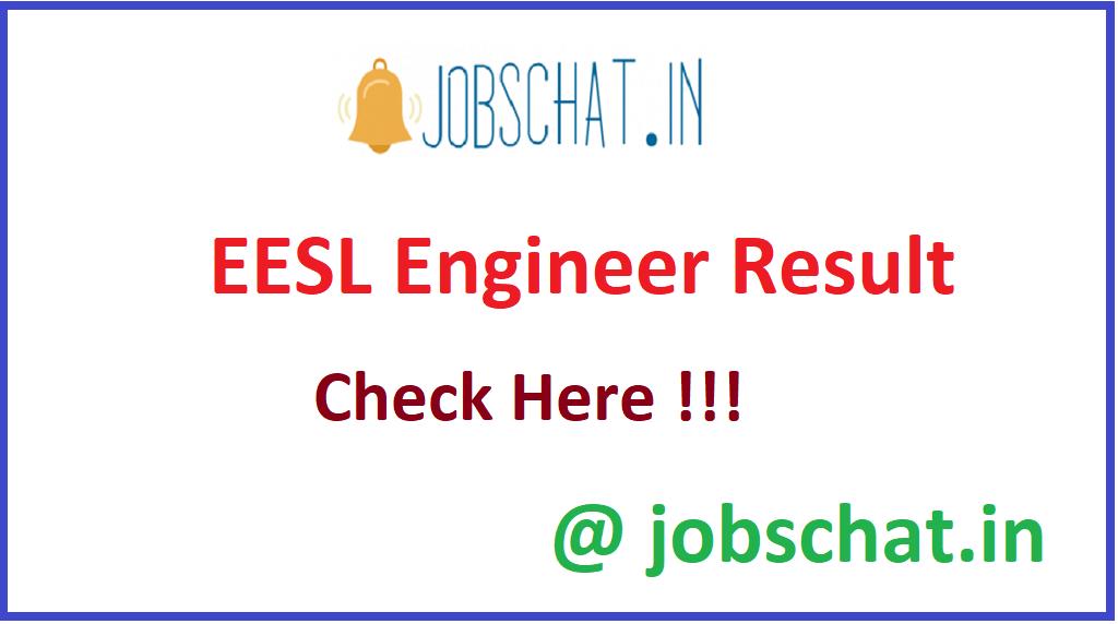 EESL Engineer Result