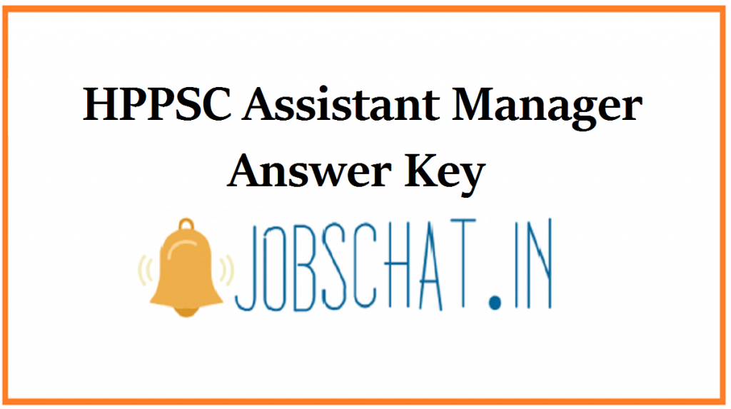 HPPSC Assistant Manager Answer Key