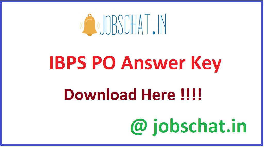 IBPS PO Answer Key