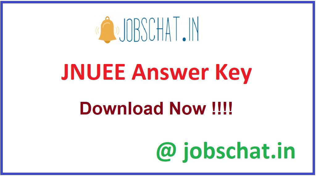 JNUEE Answer Key