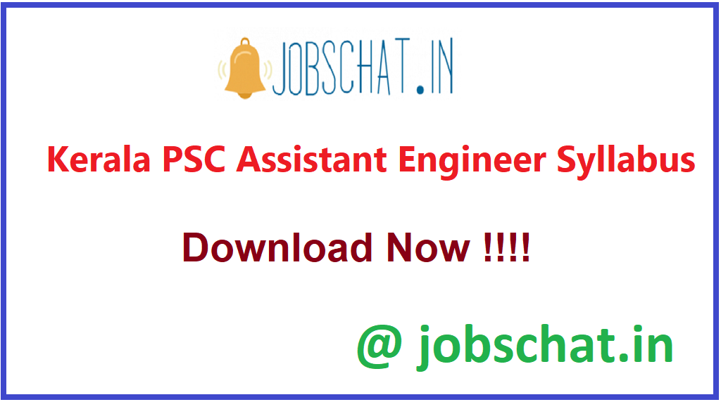 Kerala PSC Assistant Engineer Syllabus