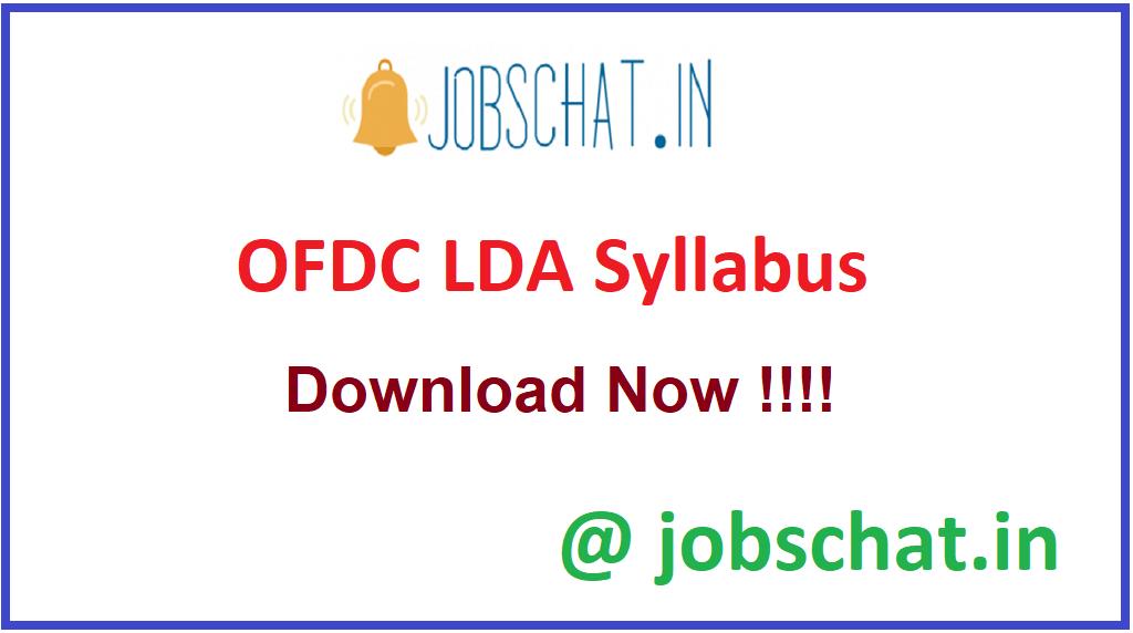 OFDC LDA Syllabus