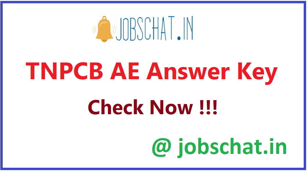 TNPCB AE Answer Key
