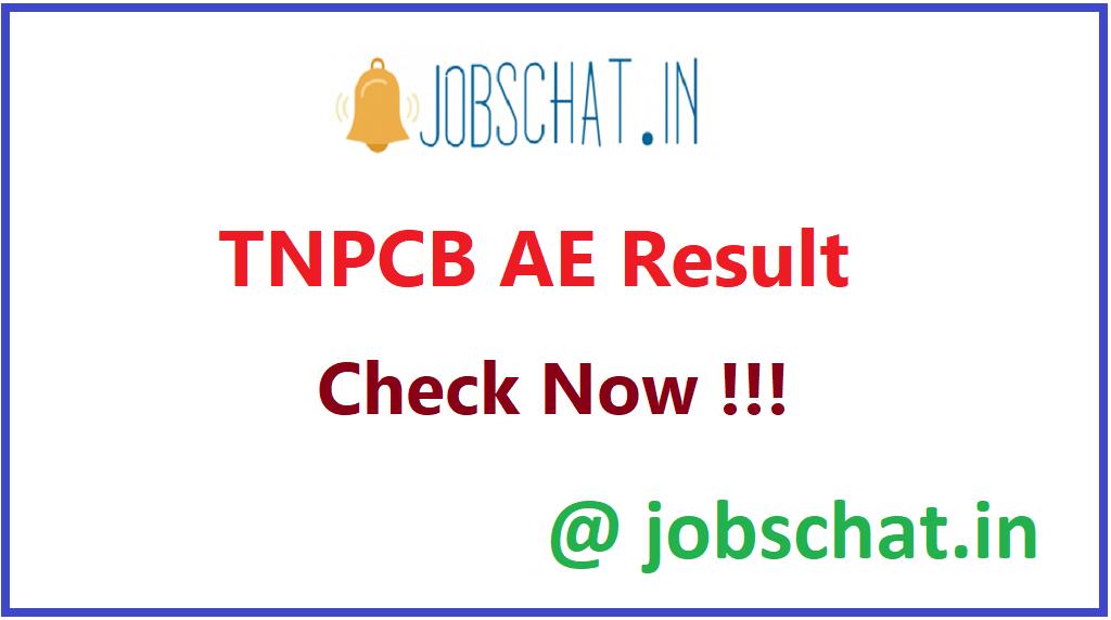 TNPCB AE Result