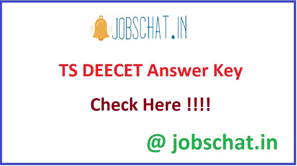 TS DEECET Answer Key