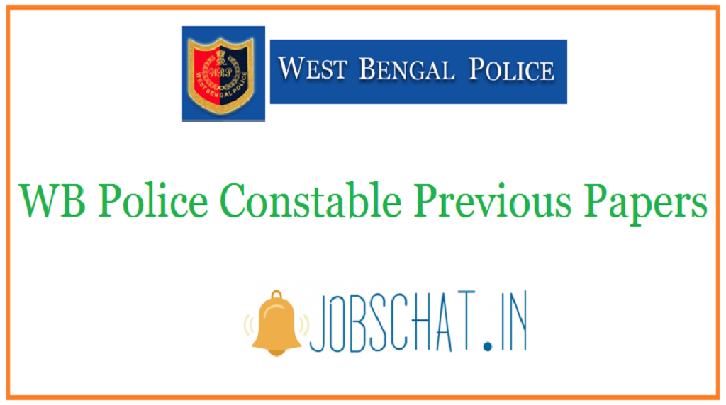 WB Police Constable Previous Papers