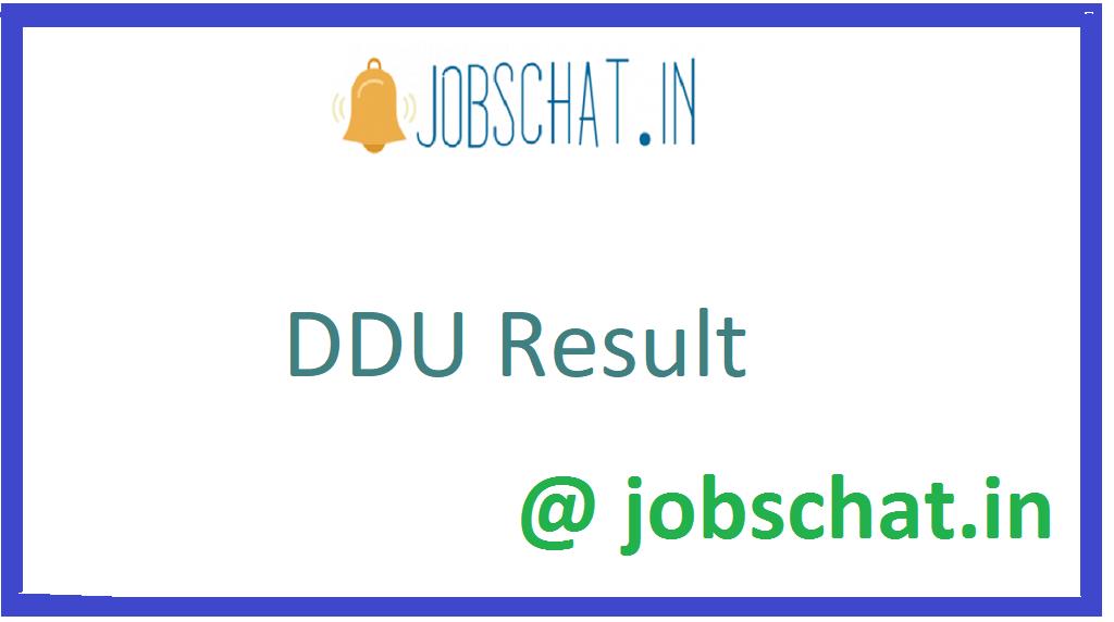 DDU Result