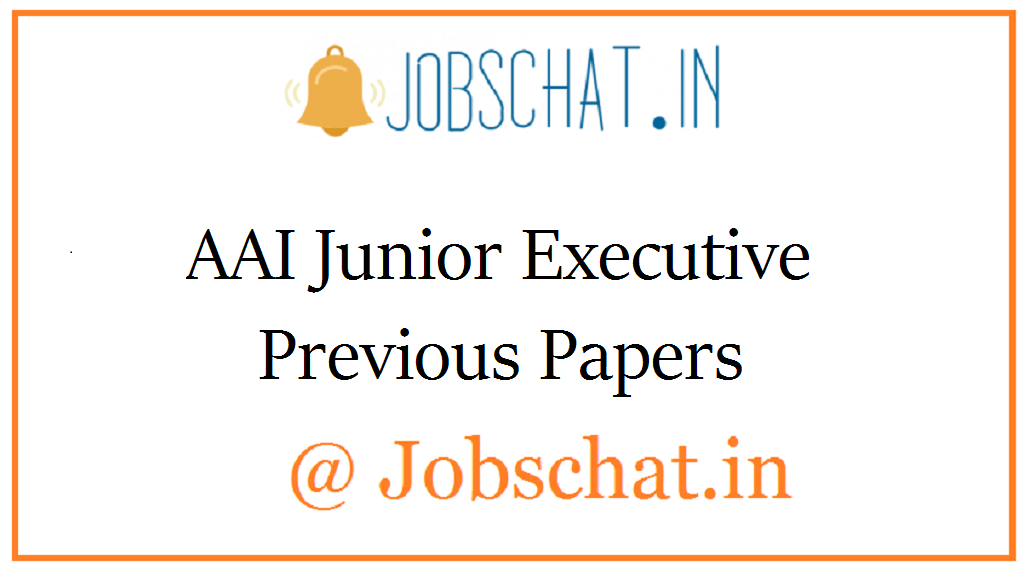 AAI Junior Executive Previous Papers