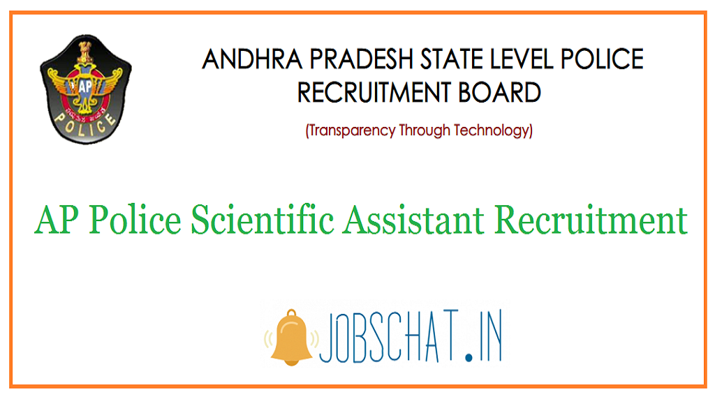 AP Police Scientific Assistant Recruitment