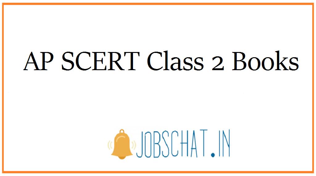 AP SCERT Class 2 Books