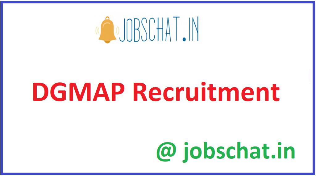 DGMAP Recruitment