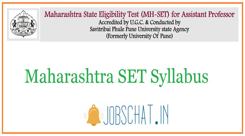 Maharashtra SET Syllabus