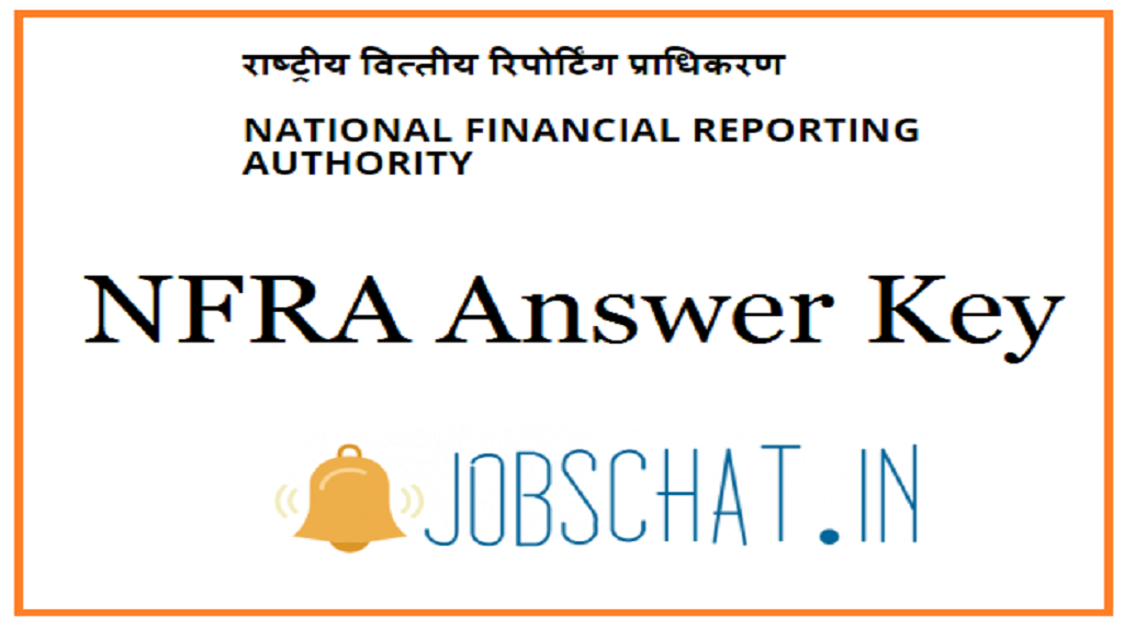 NFRA Answer Key