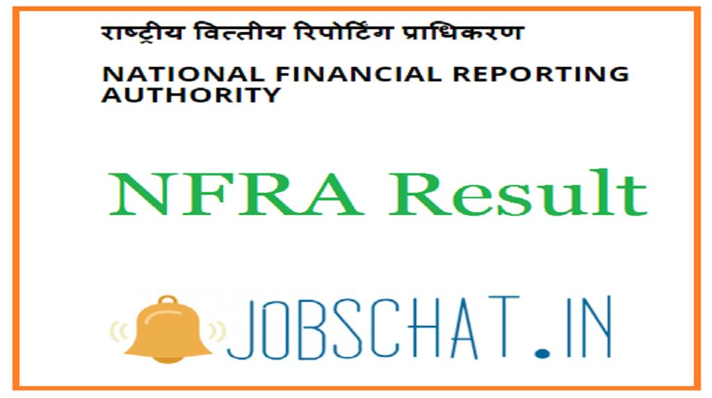 NFRA Result