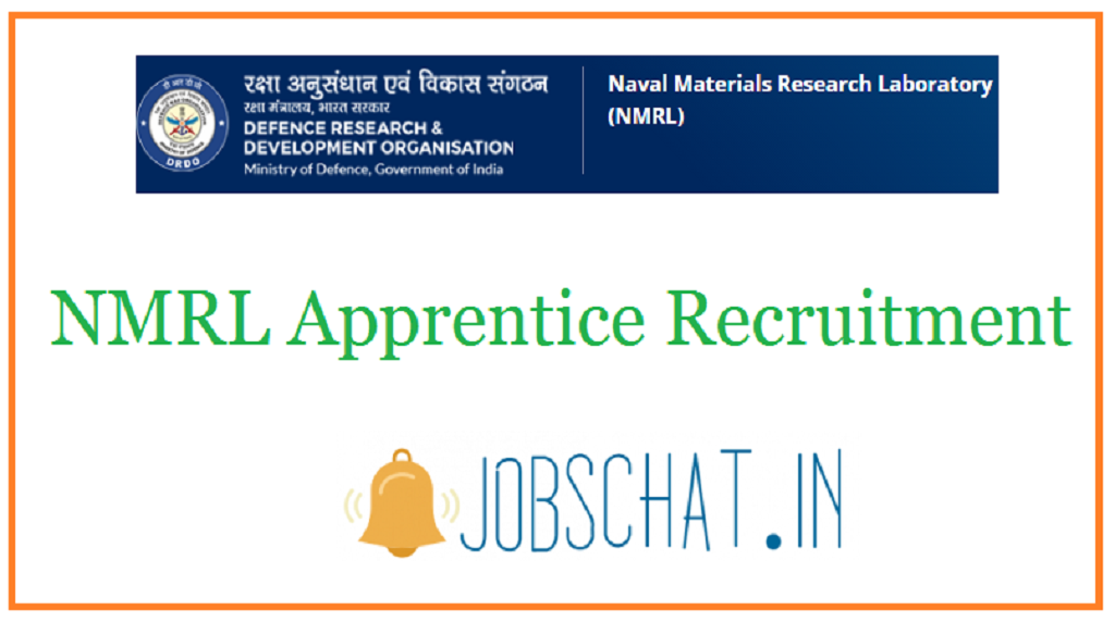 NMRL Apprentice Recruitment