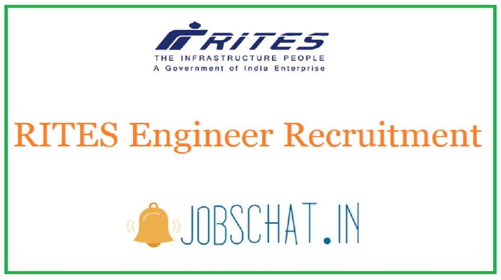 RITES Engineer Recruitment