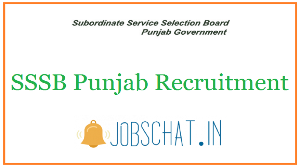 SSSB Punjab Recruitment