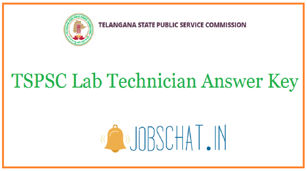 TSPSC Lab Technician Answer Key