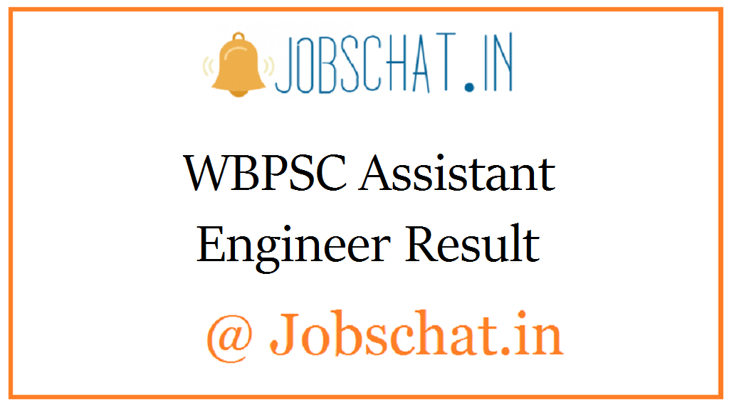 WBPSC Assistant Engineer Result