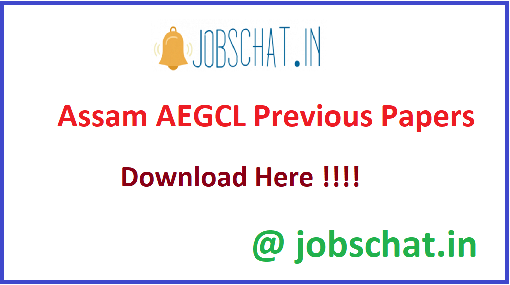 Assam AEGCL Previous Papers