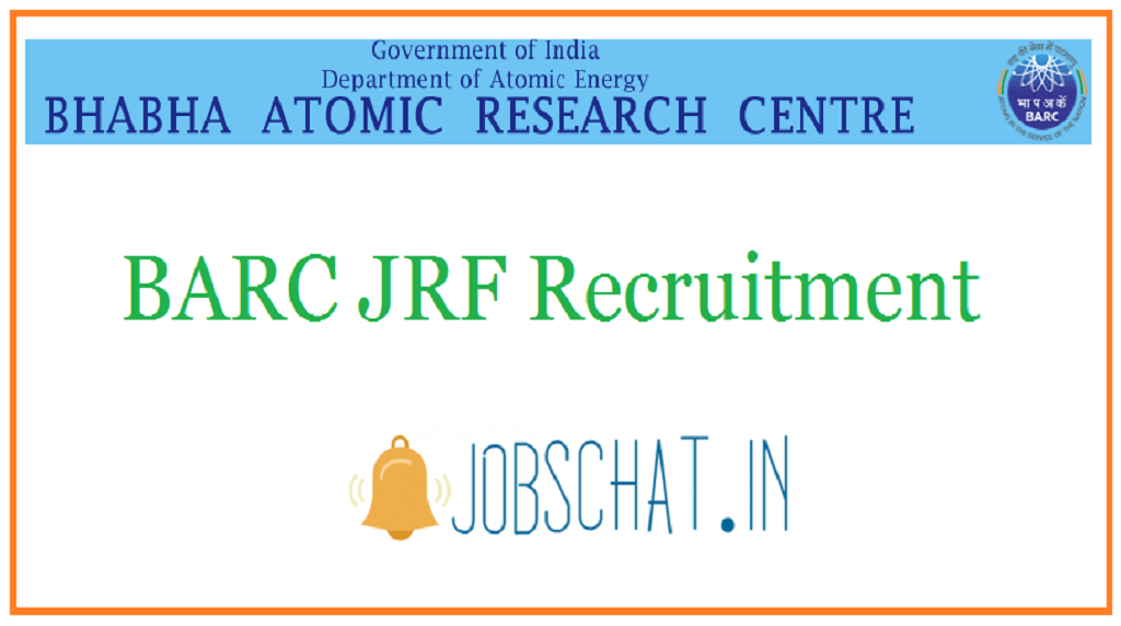 BARC JRF Recruitment
