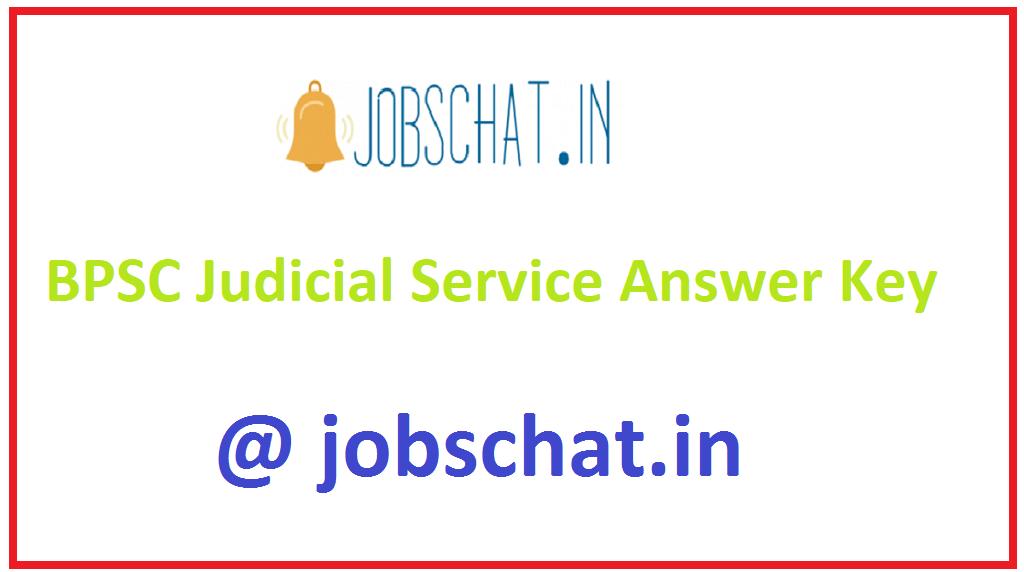 BPSC Judicial Service Answer Key