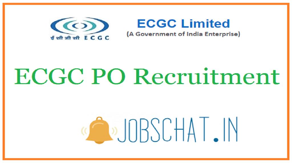ECGC PO Recruitment