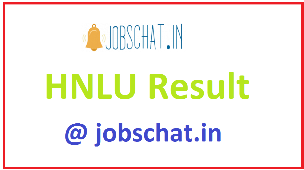HNLU Result
