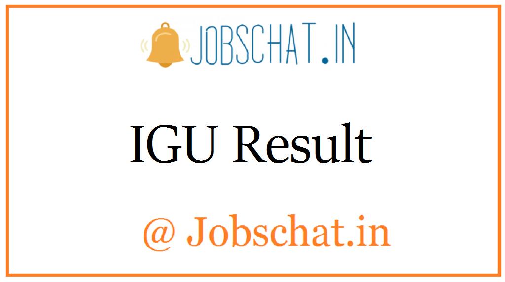 IGU Result