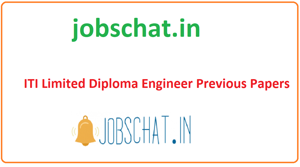 ITI Limited Diploma Engineer Previous Papers