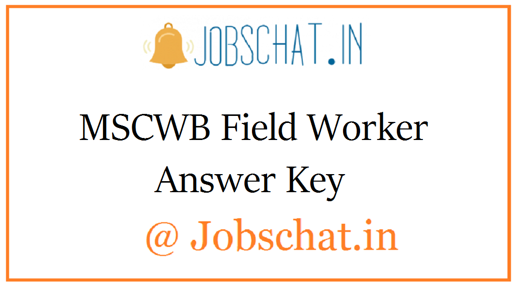 MSCWB Field Worker Answer Key