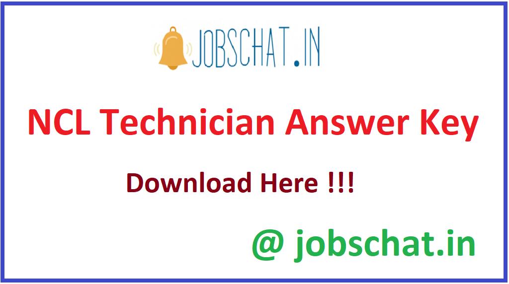 NCL Technician Answer Key