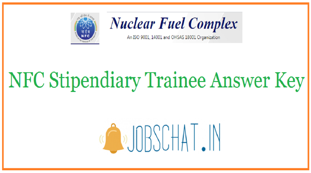 NFC Stipendiary Trainee Answer Key