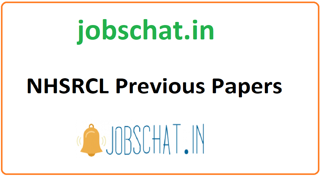 NHSRCL Previous Papers