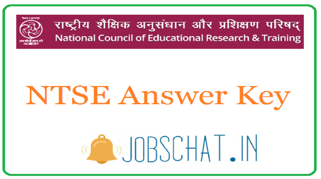 NTSE Answer Key