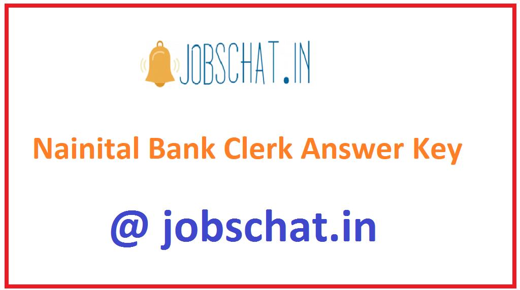Nainital Bank Clerk Answer Key