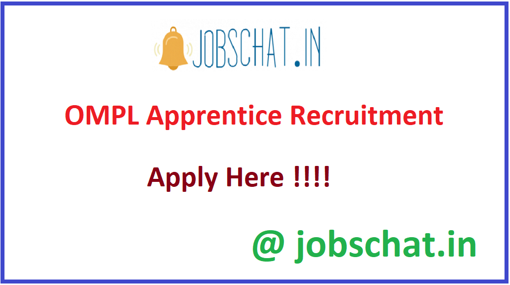 OMPL Apprentice Recruitment