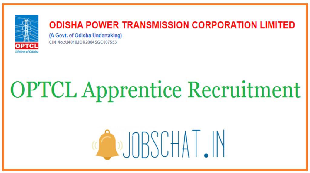 OPTCL Apprentice Recruitment