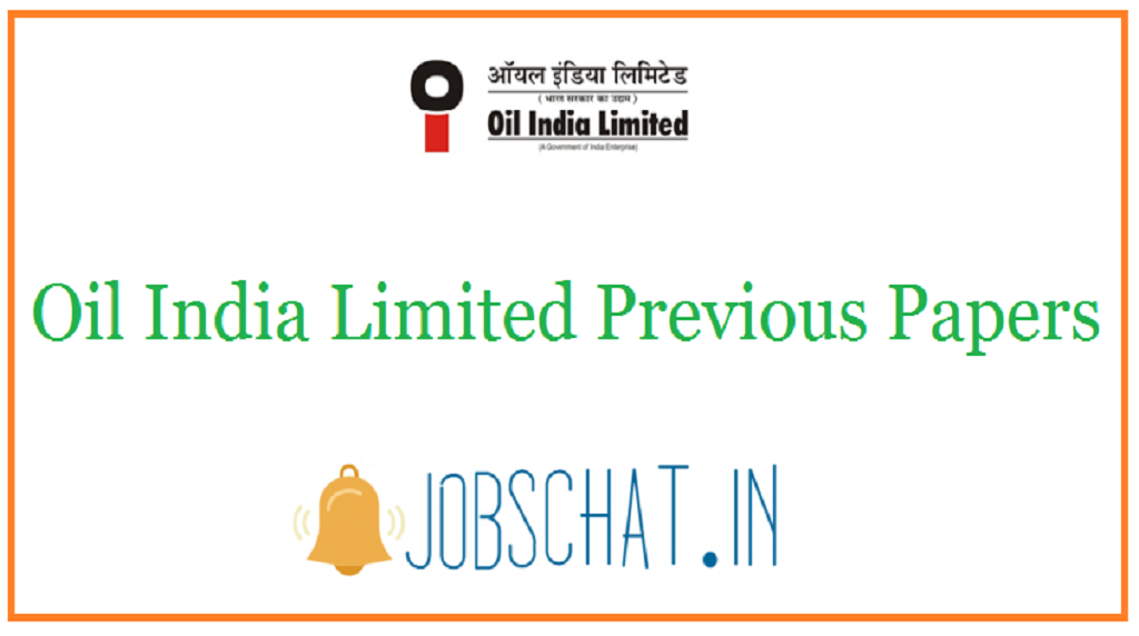 Oil India Limited Previous Papers