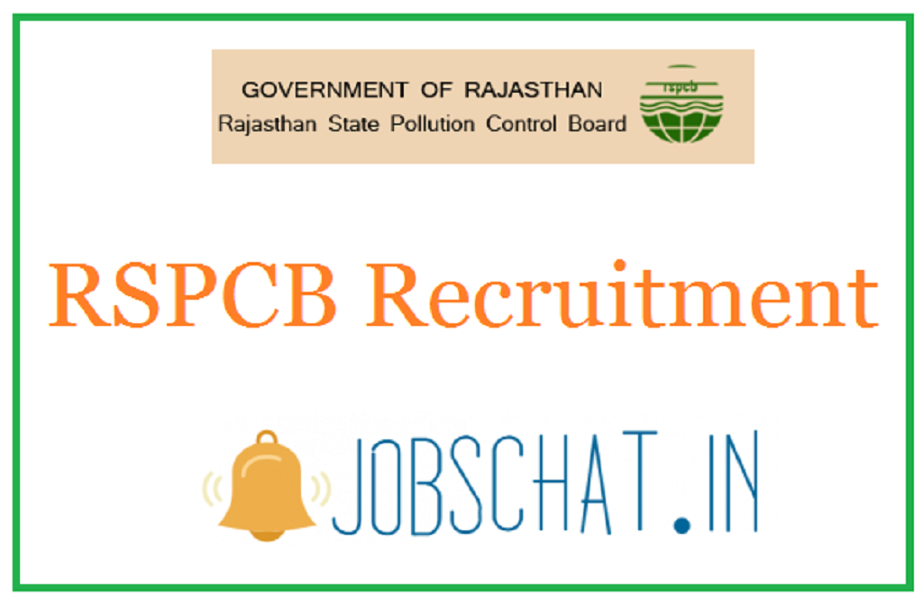 RSPCB Recruitment