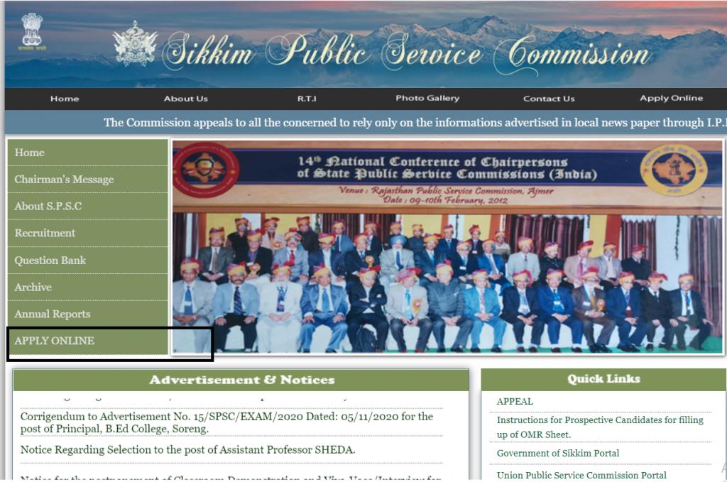 Sikkim PSC GDMO Recruitment